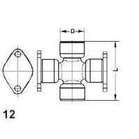 Type 12 - Weld Plate Half Round