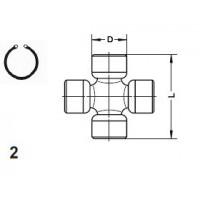 Type 2 - External Snap Ring