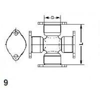 Type 9 - 4 Weld Plate